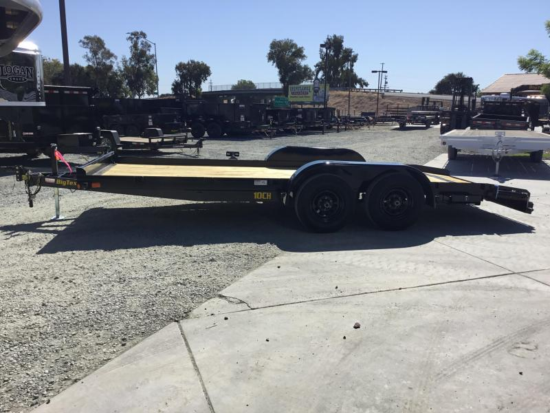 NEW 2020 Big Tex Trailers 10CH-18DT Car / Racing Trailer