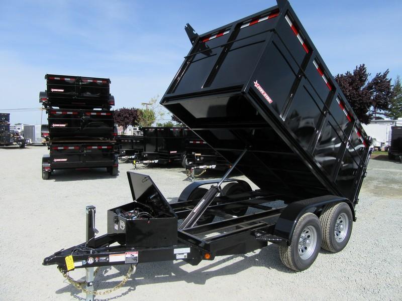 New 2020 Five Star DT256 D10 5x10 4' sides 10K Dump Trailer