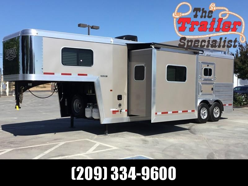 NEW 2019 Logan Coach Select 810 2H Horse Trailer