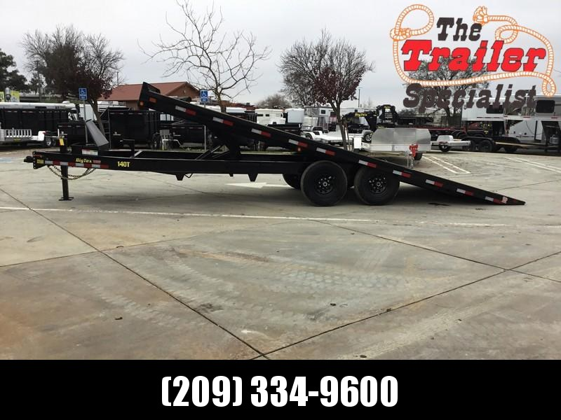 New 2020 Big Tex 14OT-22 14K 8.5x22 Tilt Deck Over Equipment Trailer