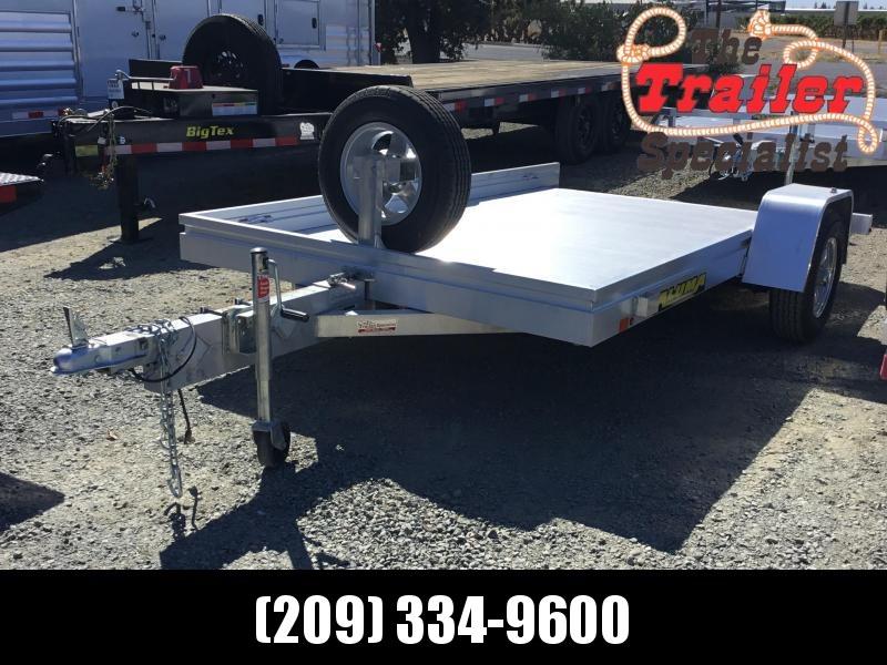 """USED 2020 Aluma 6810T Aluminum Utility Trailer 69""""x10'"""