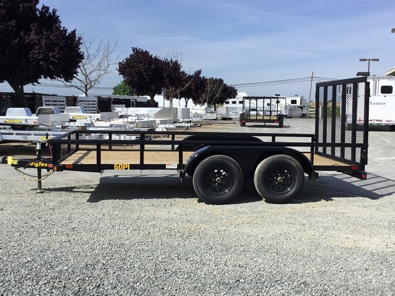 New 2020 Big Tex 60PI-14RG 6.5x14 6K GVW Utility Trailer