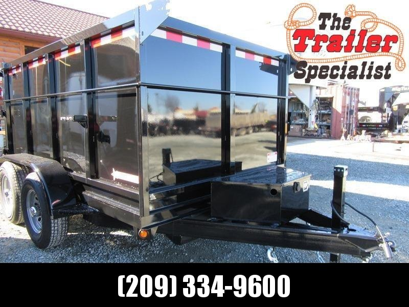 New 2020 Five Star DT259 10K GVW 6x10 Dump Trailer