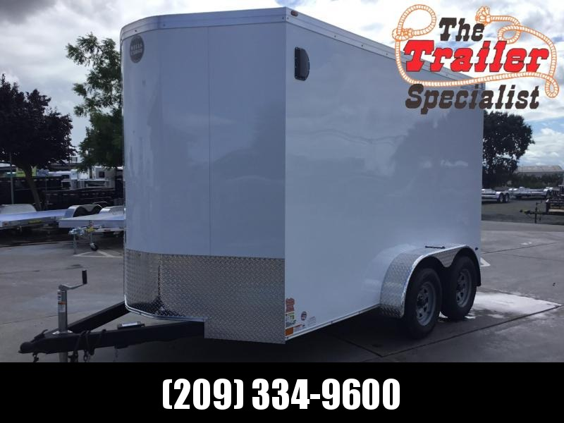 NEW 2020 Wells Cargo RFV712T2 7x12 Enclosed Cargo Trailer