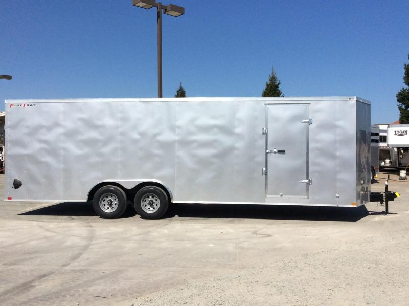 New 2020 Wells Cargo FT8524T3-D 8.5x24 10K Enclosed Cargo Trailer