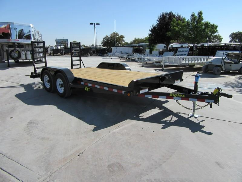 New 2020 Big Tex 10ET-16KR Equipment Trailer 7x16 10k GVW VIN:95474