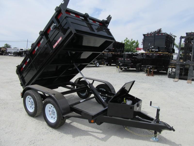 New 2020 Five Star DT291 10K 5x8 2' sides Dump Trailer