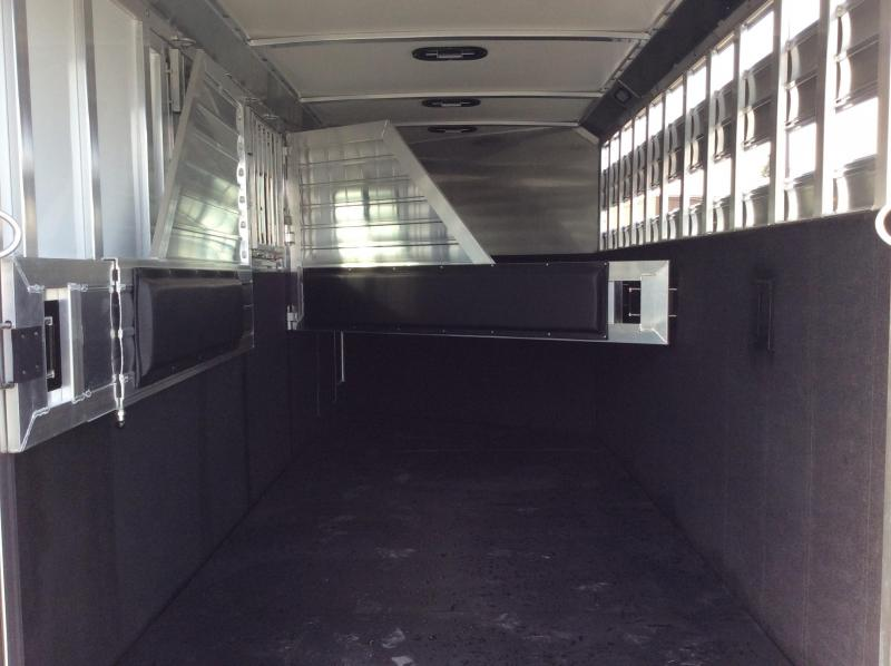 2020 Hart Trailers 4H Solution GN Horse Trailer
