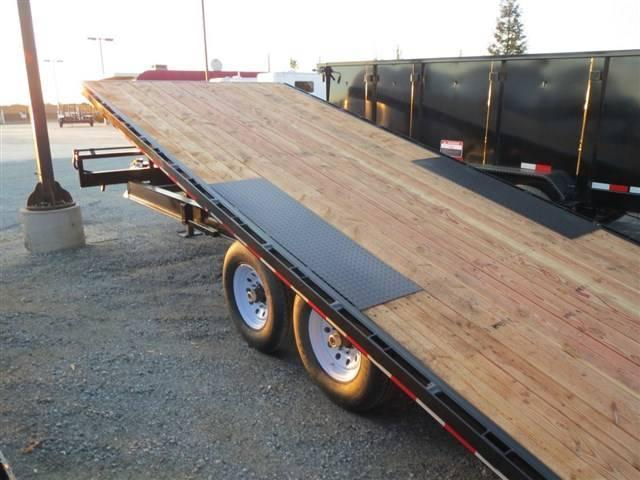 New 2019 Iron Panther ET272 8x22 Equipment Trailer