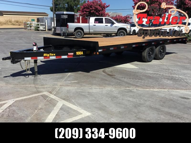 "New 2020 Big Tex 10OA-20SIR 102""x20 Deck Over Trailer"