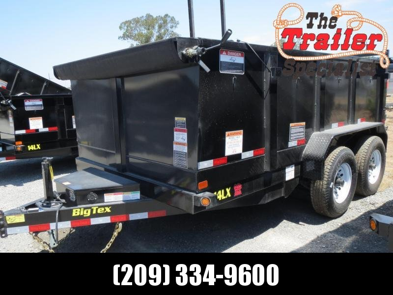 NEW 2020 Big Tex 14LX-12P3 7x12 3' sides Dump Trailer 14K VIN:93710