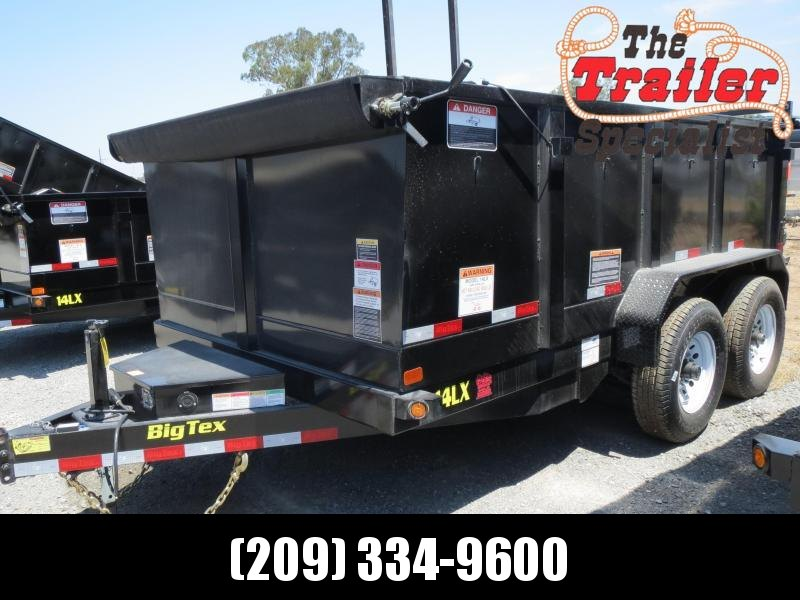 NEW 2020 Big Tex 14LX-12P3 7x12 3' sides Dump Trailer 14K