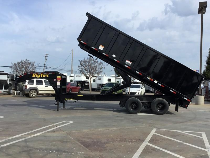 New 2020 Big Tex 25DU-20 8x20 25K GVW Dump Trailer