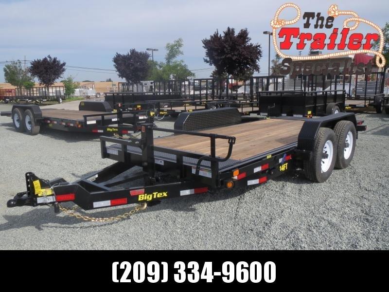 New 2020 Big Tex 14FT-16 Equipment Trailer VIN:60409