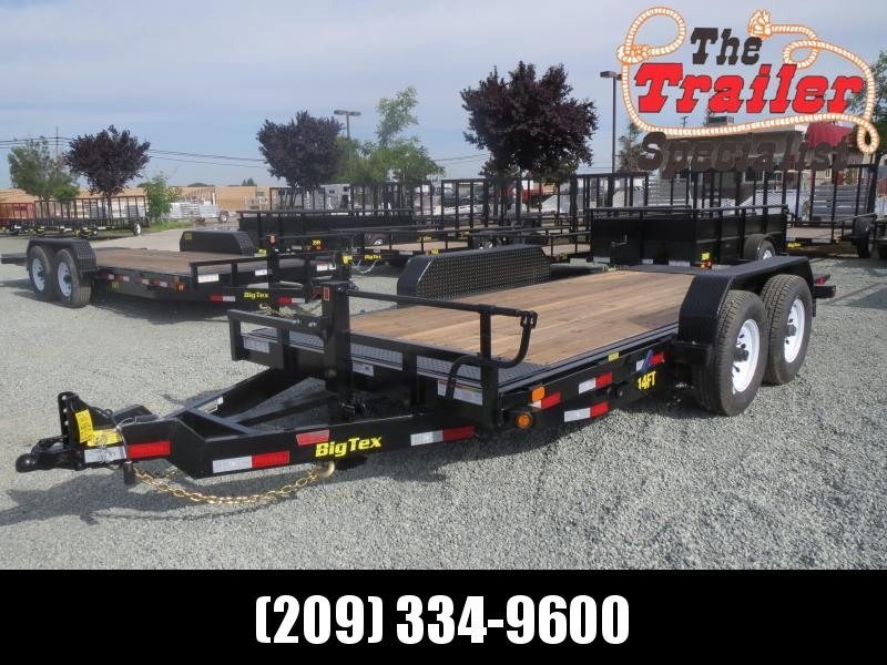 New 2020 Big Tex 14FT-16 Equipment Trailer VIN:60409