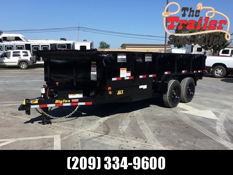 New 2019 Big Tex 16LX-16 17.5 GVW 7x16 Dump Trailer
