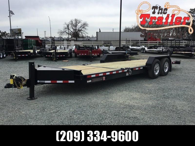 NEW 2019 Midsota TB-22 7x22 15400 GVWR Equipment Trailer