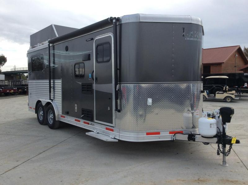 USED 2018 Lakota Charger 2H BP LQ Horse Trailer