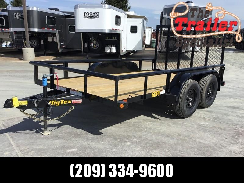 New 2020 Big Tex 60PI-12RG 6.5x12 6K GVW Utility Trailer