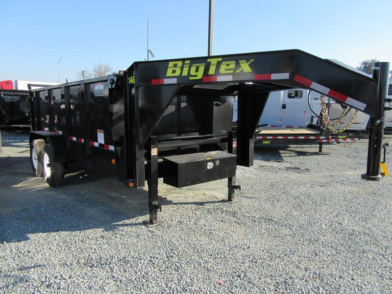 New 2020 Big Tex 14GX-14P3 Dump Trailer 7X14 14K GVW