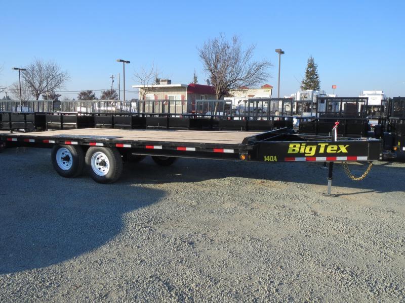 2020 Big Tex Trailers 14OA-18SIR Flatbed Trailer