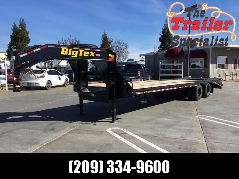 New 2020 Big Tex 22GN-25+5MR 25'+5' dovetail 23900# GVW GN Trailer