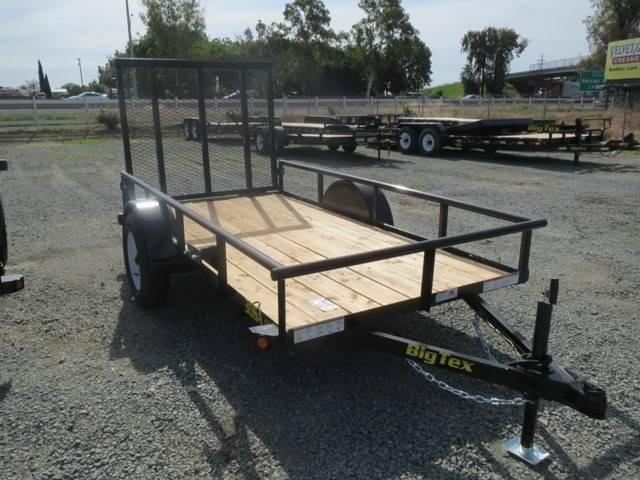 NEW 2020 Big Tex Trailers 30SA-10 5x10 Utility Trailer