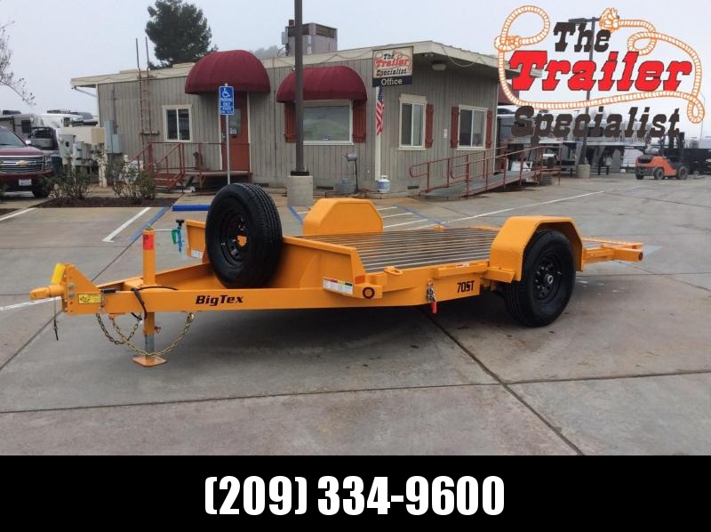 2020 Big Tex Trailers 70ST-13 Equipment Trailer