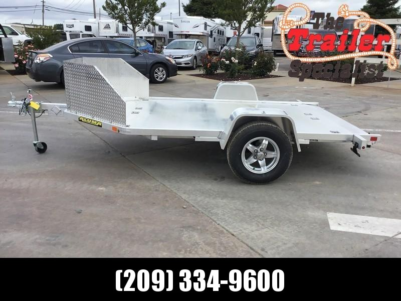 New 2020 Aluma MC210 Aluminum Motorcycle Trailer