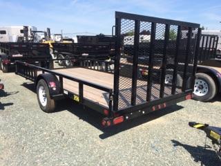 2020 Big Tex Trailers 35SA-14RSX 7x14 ATV Utility Trailer