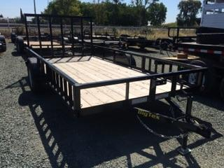 2020 Big Tex Trailers 35SA-14RSX 7x14 ATV Utility Trailer