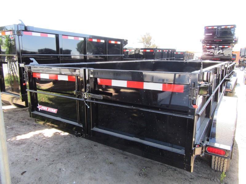 New 2020 Five Star DT212 D7 6x12 Dump Trailer