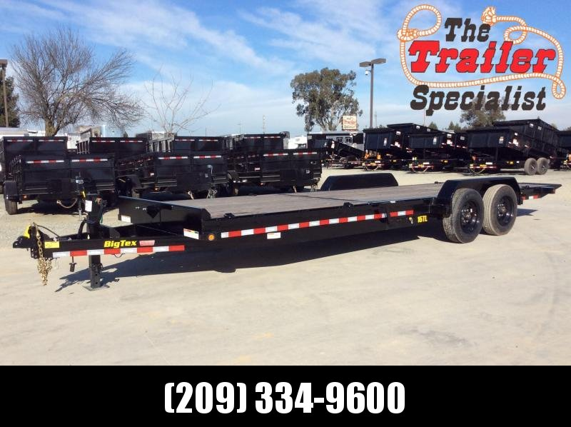 New 2020 Big Tex 16TL-24 7x24' Tilt Equipment Trailer Vin50114