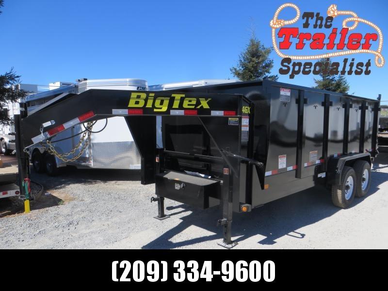 New 2020 Big Tex 14GX-16P4 7x16 14K 4' sides Dump Trailer Vin 08634