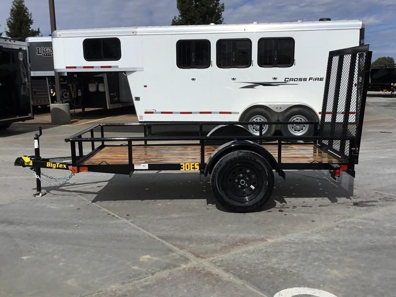 New 2020 Big Tex 30ES-10 Economy Utility Trailer