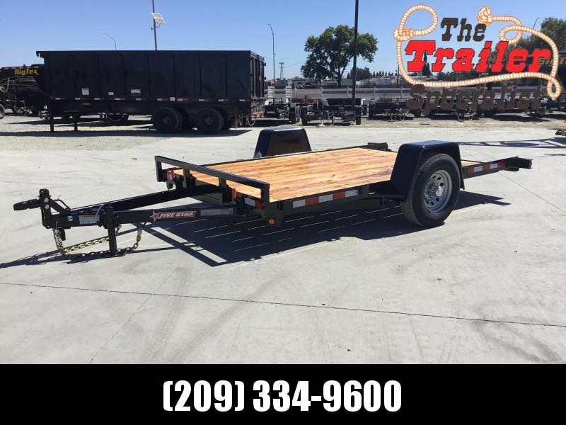 New 2020 Five Star UT305 5K 6.5x12 Tilt Utility Trailer