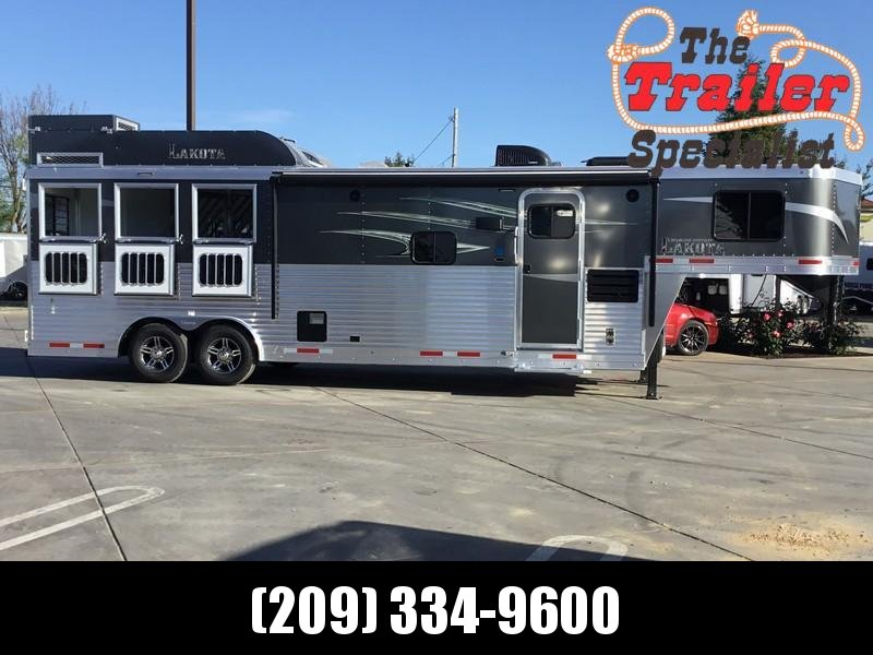 NEW 2019 Lakota Charger 3 horse 11ft short wall LQ C8311RK Horse Trailer