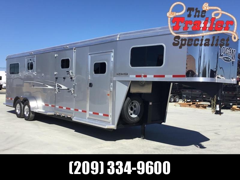 NEW 2020 Logan Coach 2 plus 1 Warmblood XT GN Horse Trailer