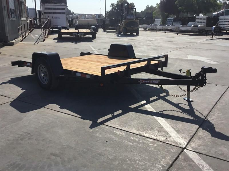 NEW 2019 Five Star UT270 3K 6.5x10 Tilt Utility Trailer