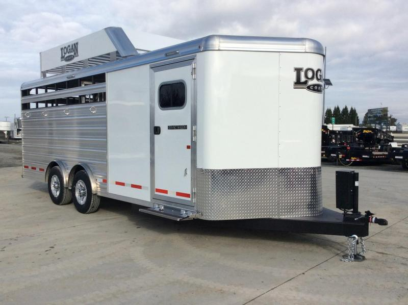 2020 Logan Coach 20' STOCK COMBO BP Horse Trailer
