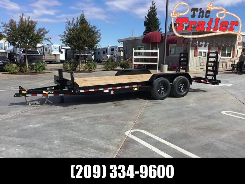 NEW 2020 Big Tex 14ET-20KR 14k 7x20 Equipment Trailer