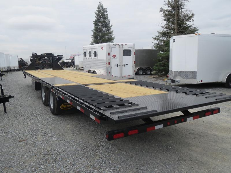 "New 2020 Big Tex 22GN-35HDT Equipment Trailer 102""x35' 22k"