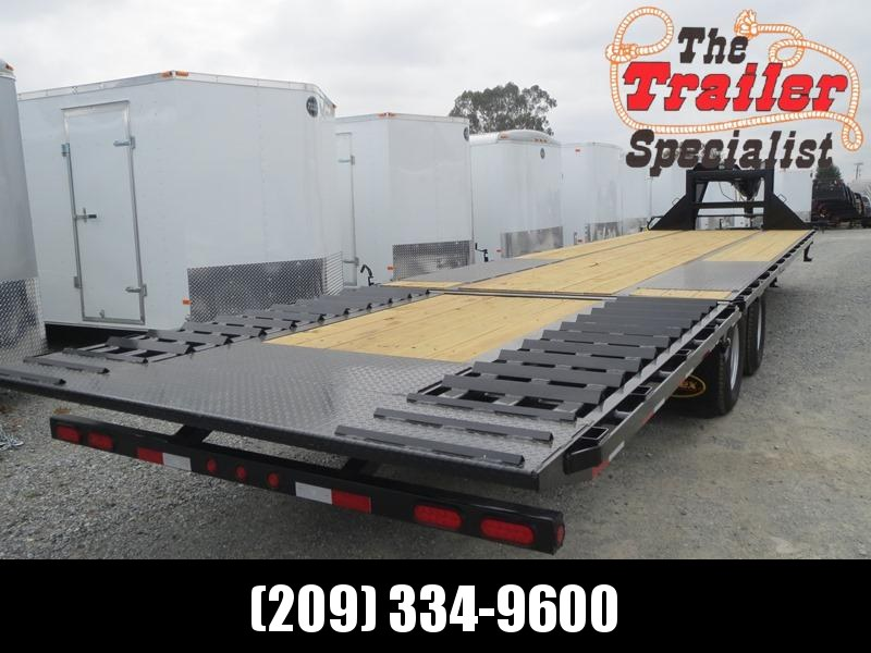 "New 2020 Big Tex 22GN-35HDT Equipment Trailer 102""x35' 22k"