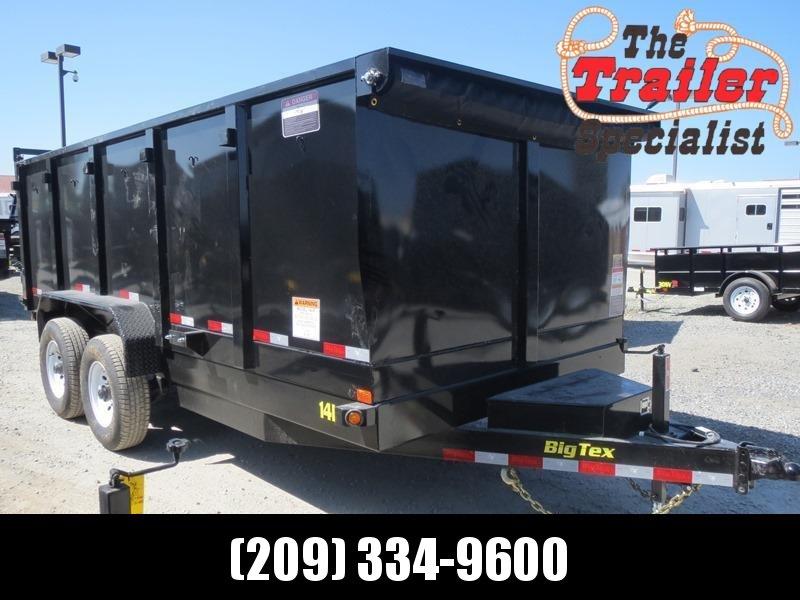 New 2020 Big Tex 14LX-16P4 Dump Trailer 7X16 14K 4' sides