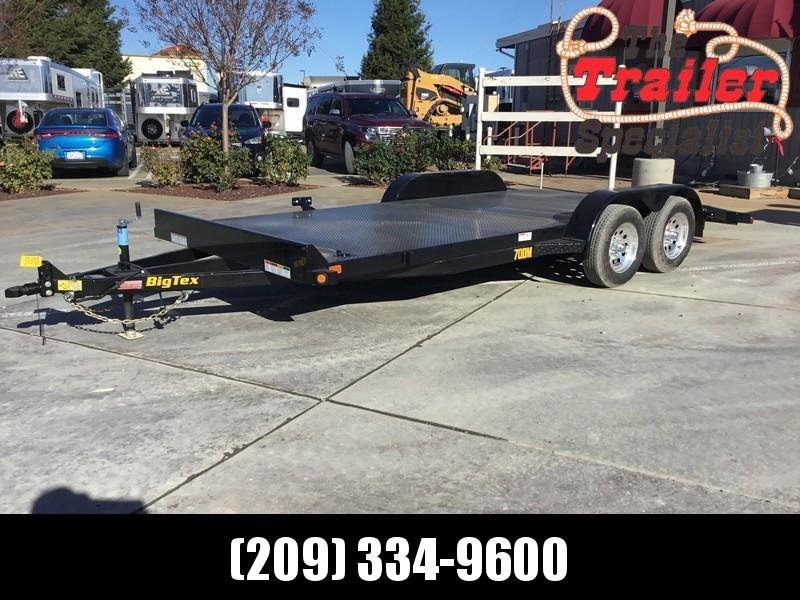 New 2020 Big Tex 70DM-18 7x18 Car/Racing Trailer