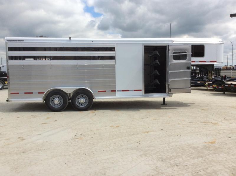 2020 Logan Coach 16' Bullseye Stock Combo GN Horse Trailer