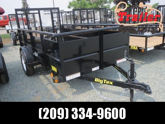 NEW 2020 Big Tex 30SV-10 5x10 Utility Trailer