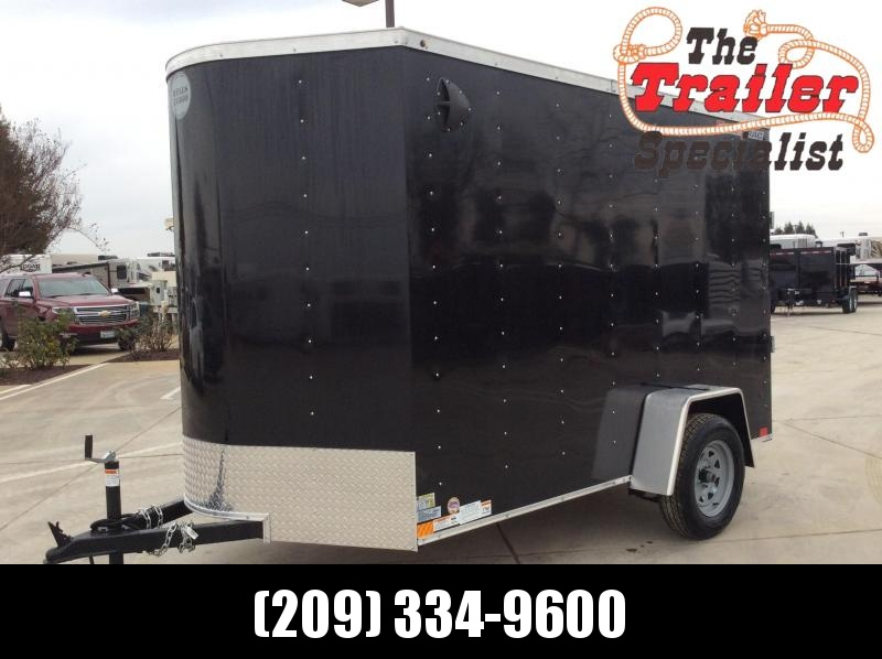 NEW 2020 Wells Cargo FT610S2-D Fastrac 6x10 Enclosed Cargo Trailer