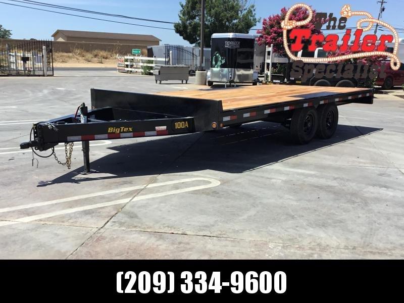 NEW 2020 Big Tex 10OA-18SIR Flatbed Trailer 8.5x18 10K GVW