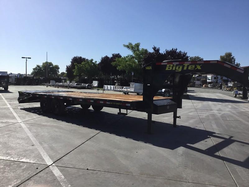 NEW 2020 Big Tex 14GN-20+5MR 15900# GVW Equipment Trailer